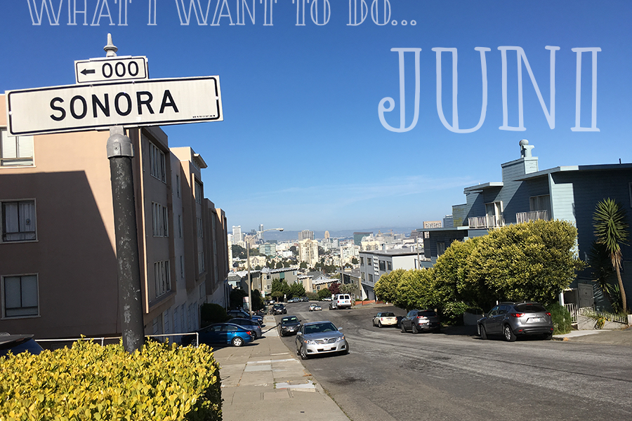 I juni vil jeg…
