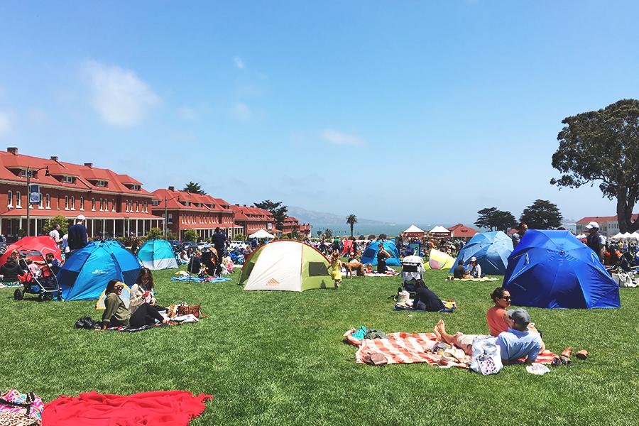 San Francisco Tip #1 – Presidio Picnic