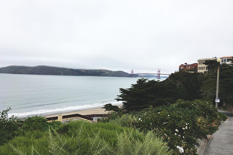 Den første uge i San Francisco