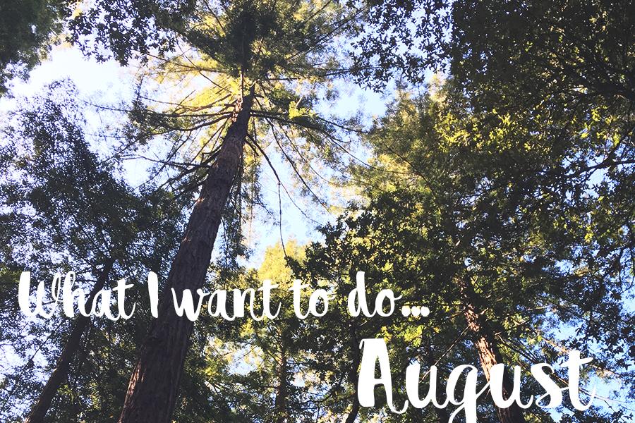 I august vil jeg…