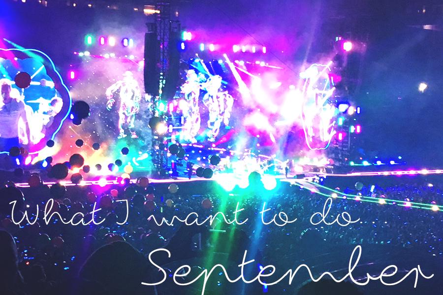 I september vil jeg…