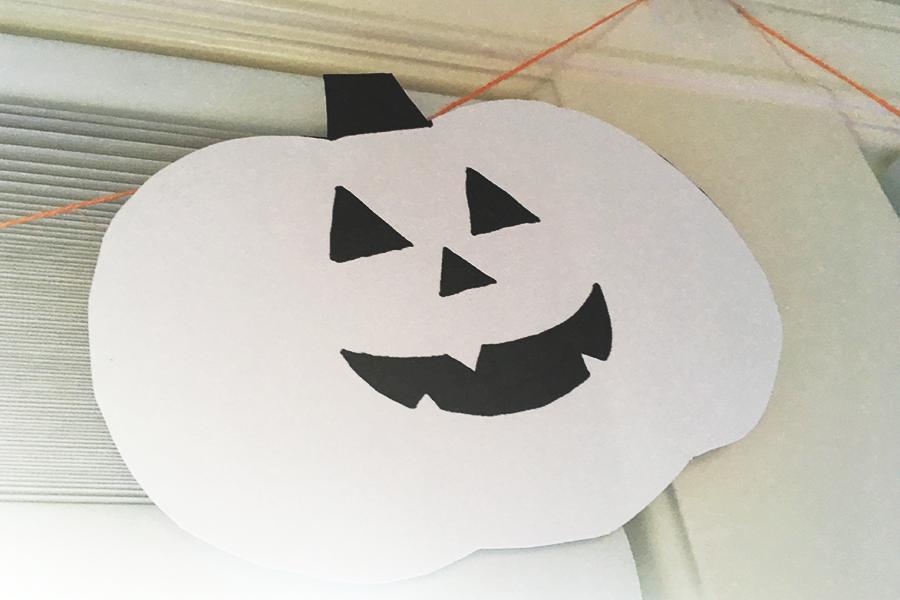 DIY: Nem guirlande til Halloween