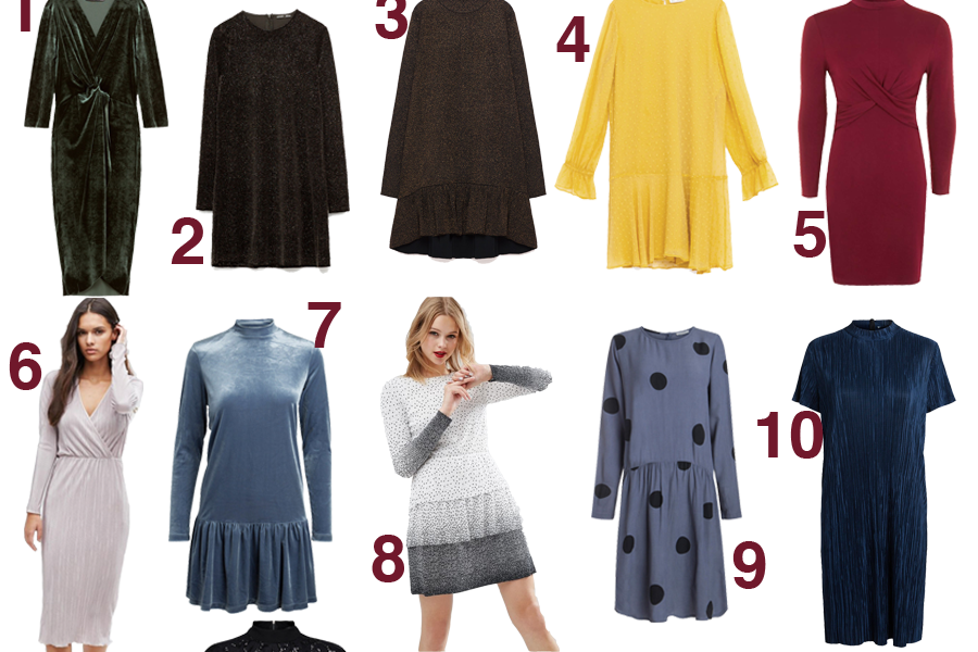 Budgetvenlige kjoler til decembers fester