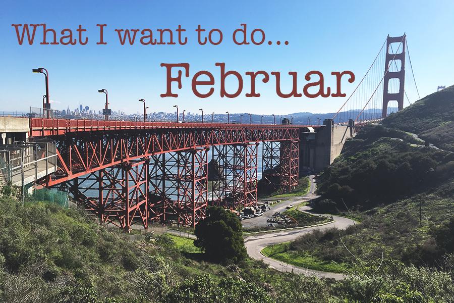 I februar vil jeg…