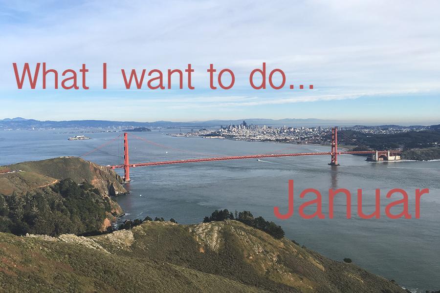I januar vil jeg…