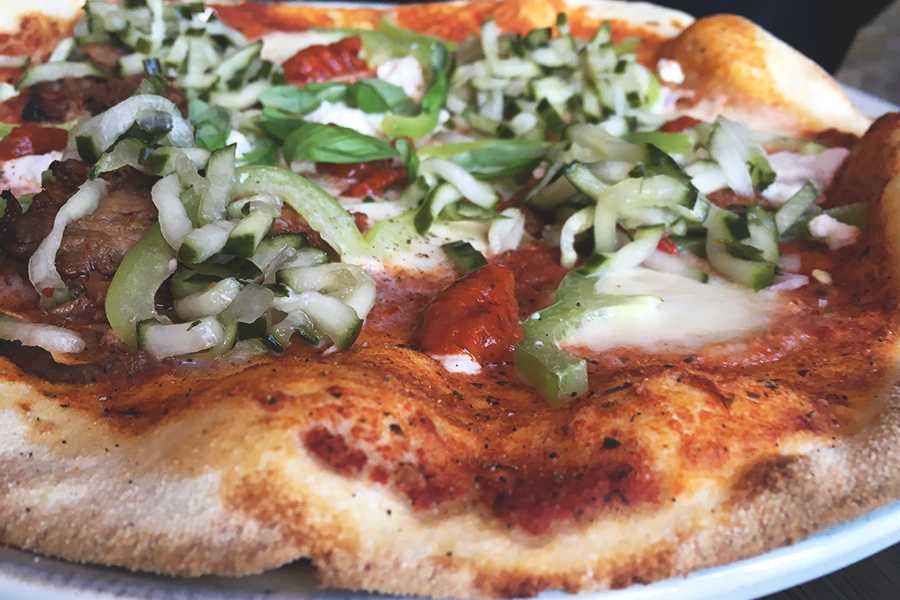 Nyt job, gode pizzaer og en lille status