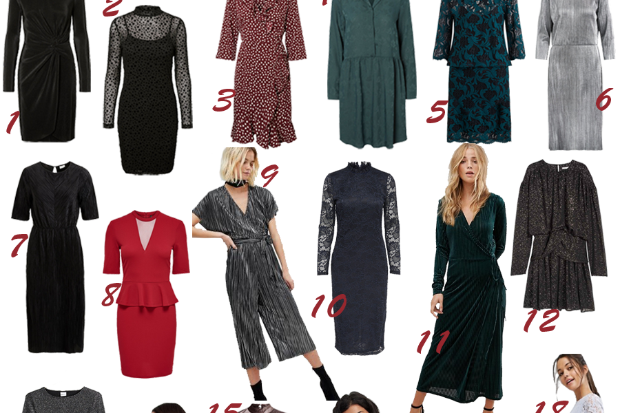 30 budgetvenlige kjoler til julefesterne